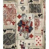 Mind The Gap Wallpaper  - Playing Cards